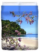 Playa Espadillia Sur Manuel Antonio National Park Costa Rica Duvet Cover