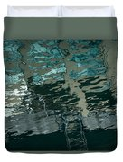 Playful Abstract Reflections Duvet Cover