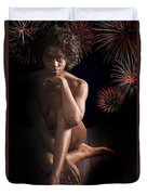 Chynna African American Nude Girl In Sexy Sensual Photograph And In Color 4774.02 Duvet Cover