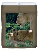 Playful Cubs Duvet Cover