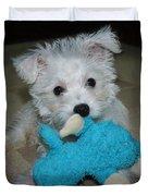 Playful Puppy Duvet Cover