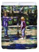 Playground Duvet Cover
