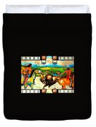 Playing For Keeps Duvet Cover