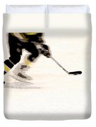 Playing The Game Duvet Cover by Karol Livote