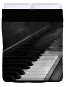 Playing The Piano Duvet Cover