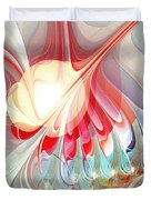 Playing With Colors Duvet Cover by Anastasiya Malakhova