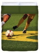 Plays On The Ball Duvet Cover