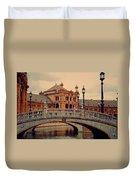 Plaza De Espana 10. Seville Duvet Cover by Jenny Rainbow