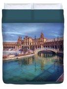 Plaza De Espana Seville II Duvet Cover