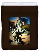 Plaza Horse Duvet Cover