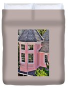 Beautiful Pink Turret - Boardwalk Plaza Hotel Annex - Rehoboth Beach Delaware Duvet Cover