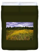 Pleasant Meadow Foreboding Sky Duvet Cover