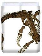 Pleisiosaurus, Mesozic Marine Reptile Duvet Cover