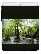 Plitvice Lakes Duvet Cover