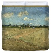 Ploughed Fields Duvet Cover