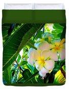 Plumeria Beauty Duvet Cover