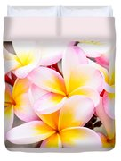 Plumerias Of Paradise 6 Duvet Cover