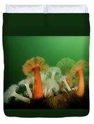 Plumose Anemone In Puget Sound Duvet Cover