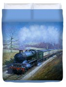 Plymouth Bound. Duvet Cover by Mike Jeffries