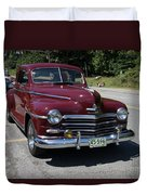 Plymouth Duvet Cover