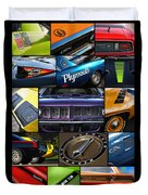 Plymouth Collage No. 1 Duvet Cover