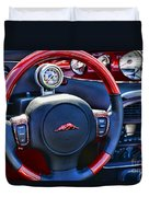 Plymouth Prowler Steering Wheel Duvet Cover
