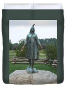 Pocahontas Sculpture Duvet Cover