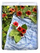 Pocket Full Of Posies Duvet Cover