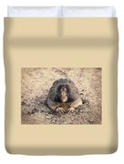 Pocket Gopher Chatting Duvet Cover