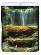 Poconos Cascades Duvet Cover