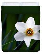 Poet's Daffodil Duvet Cover