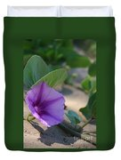 Pohuehue - Pua Nani O Kamaole Hawaii - Beach Morning Glory Duvet Cover