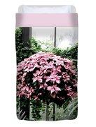 Poinsettia Tree Longwood Gardens Duvet Cover