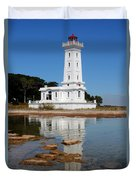 Point Abino Reflections Duvet Cover