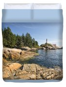 Point Atkinson Lighthouse In Vancouver Bc Duvet Cover