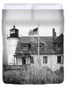 Point Betsie Lighthouse II Duvet Cover