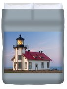 Point Cabrillo Lighthouse Duvet Cover