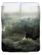 Point Danger Duvet Cover by Shanina Conway