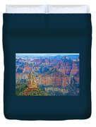 Point Imperial At 8803 Feet On North Rim Of Grand Canyon National Park-arizona   Duvet Cover