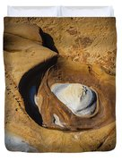 Point Lobos Abstract 11 Duvet Cover