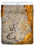 Point Lobos Abstract 12 Duvet Cover