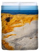 Point Lobos Abstract 14 Duvet Cover