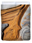 Point Lobos Abstract 5 Duvet Cover