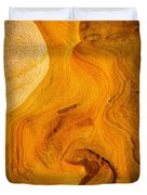 Point Lobos Abstract 6 Duvet Cover