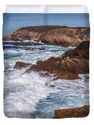 Point Lobos Surf Duvet Cover