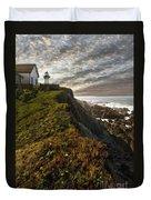 Point Montara Light House II Duvet Cover