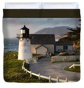 Point Montara Lighthouse  Duvet Cover