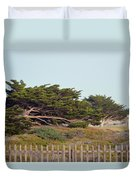 Point Pinos Lighthouse Pacific Grove California Duvet Cover
