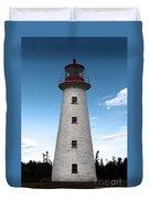 Point Prim Lighthouse 3 Duvet Cover