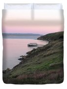 Point Reyes Sunset Duvet Cover